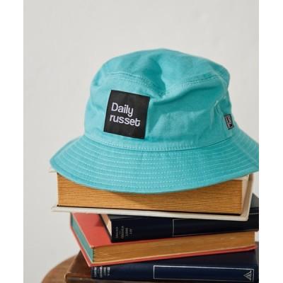 Daily russet / コットンロゴ バケットハット WOMEN 帽子 > ハット