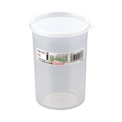 厨房用品 保存容器 / ハイパック 丸長型 S-71  寸法: 直径:90 x H128mm 容量:540cc