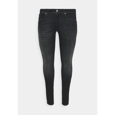 レディース ジーンズ CARMAYA LIFE SHAPE - Jeans Skinny Fit - black