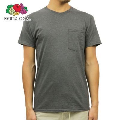フルーツオブザルーム Tシャツ ポケット メンズ 正規品 FRUIT OF THE LOOM プラチナムシリーズ 半袖Tシャツ ポケT CREW POCKET  父の日 ギフト プレゼント
