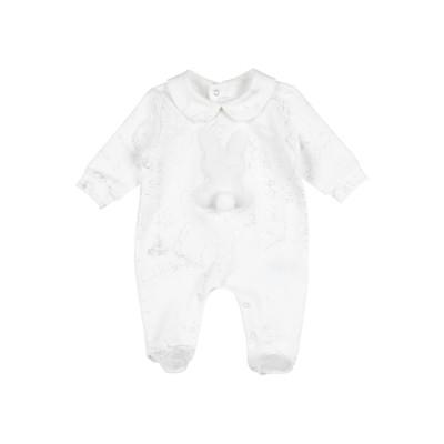 アルヴィエロ マルティーニ プリマ クラッセ ALVIERO MARTINI 1a CLASSE 乳幼児用ロンパース ホワイト 3 コットン 95%