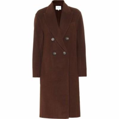 ヴィンス Vince レディース コート ダブルブレストコート アウター Double-Breasted Wool-Blend Coat DK Verona