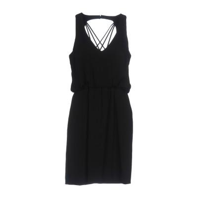 MANGANO ミニワンピース&ドレス ブラック 42 ポリエステル 100% / ポリウレタン ミニワンピース&ドレス