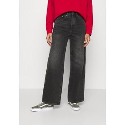 オンリー レディース デニムパンツ ボトムス ONLHOPE LIFE - Bootcut jeans - black denim black denim