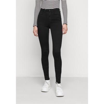 オンリー トール デニムパンツ レディース ボトムス ONLROYAL HIGH - Jeans Skinny Fit - black