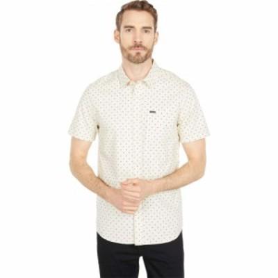 ボルコム Volcom メンズ 半袖シャツ トップス Hallock Short Sleeve Shirt White Flash