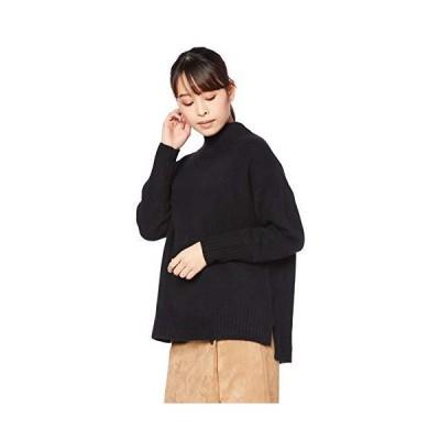 ナチュラルビューティーベーシック セーター ハンドウォッシャブルFOX混ニット レディース クロ 日本 M (日本サイズM相当)