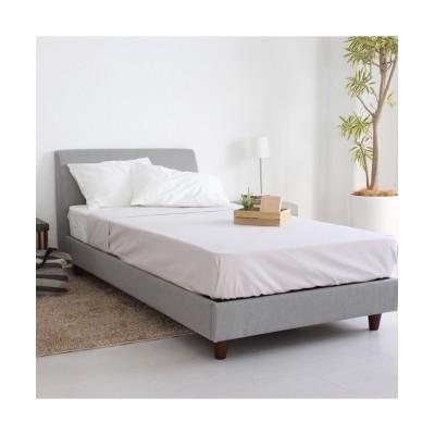 ソファーのようにゆったりくつろげるファブリックベッド ベッド, Beds(ニッセン、nissen)