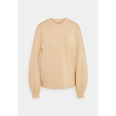 ビーヤング パーカー・スウェットシャツ レディース アウター PUSTI - Sweatshirt - cement