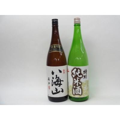 特選日本酒セット 八海山 天一 スペシャル2本セット(純米吟醸・特別純米酒)1800ml×2本