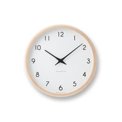 レムノス 掛時計 Campagne PC10-24WNT ナチュラル 【新生活 掛け時計】