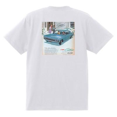 アドバタイジング オールズモビル 597 白 Tシャツ 黒地へ変更可  1962 スターファイア カトラス 98 88 ダイナミック スーパー ホットロッド