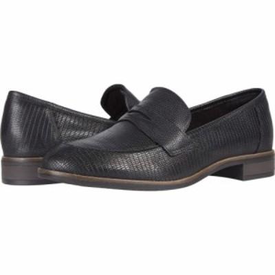 クラークス Clarks レディース シューズ・靴 Trish Rose Black Lizard Print Leather