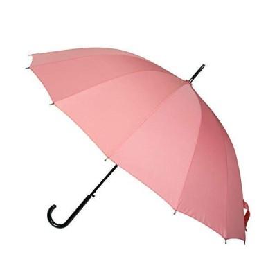 品 傘 レディース わにゃんこ 雨に濡れると猫が浮き出る傘和傘 ジャンプ傘 16本骨 55cmジャンプ ピンク