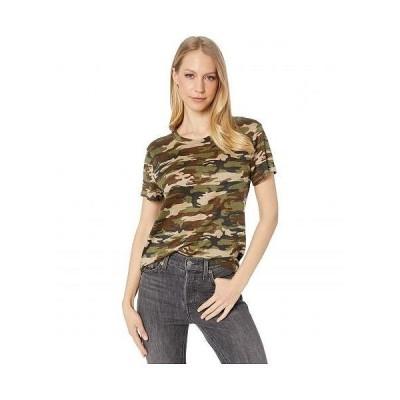 Sanctuary サンクチュアリ レディース 女性用 ファッション Tシャツ The Perfect T-Shirt - Little Hero Camo