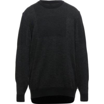 ヒューゴ ボス BOSS HUGO BOSS メンズ ニット・セーター トップス sweater Black