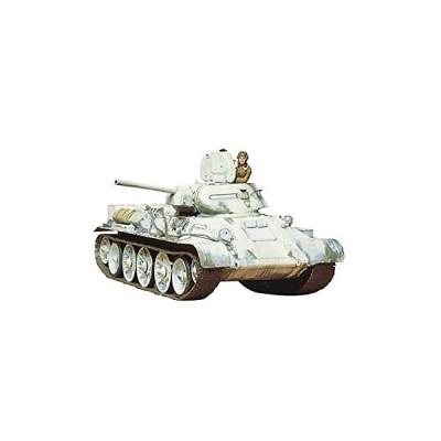 タミヤ 1/35 ミリタリーミニチュアシリーズ No.49 ソビエト T34/76 戦車 1942年型 35049