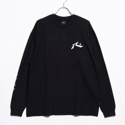 ラスティ RUSTY ナガソデ Tシャツ (BLK)