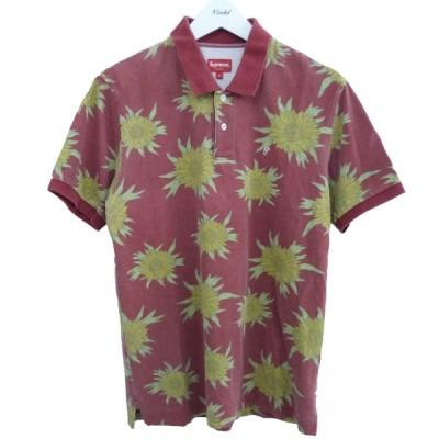 【SALE】SUPREME 15SS「Sun Flower Polo」サンフラワーポロシャツ サイズ:S (原宿店)