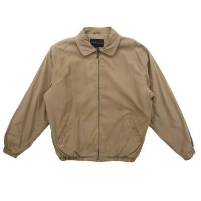 中綿ジャケット ブルゾン スウィングトップ ベージュ サイズ表記:L
