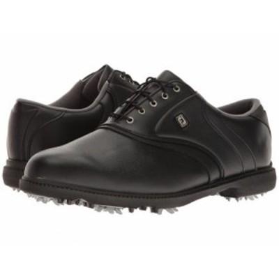 FootJoy フットジョイ メンズ 男性用 シューズ 靴 スニーカー 運動靴 Originals Cleated Plain Toe Twin Saddle Black【送料無料】