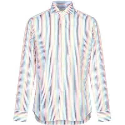 UNGARO シャツ ホワイト 40 コットン 100% シャツ