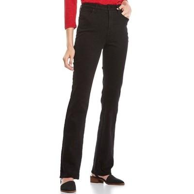 エヌワイディージェイ レディース デニムパンツ ボトムス Sheri Slim Mid Rise Bootcut Jeans