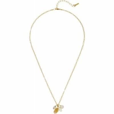 チャンルー Chan Luu レディース ネックレス チャーム ジュエリー・アクセサリー Short Necklace with Hand Charm and Semi Precious Sto