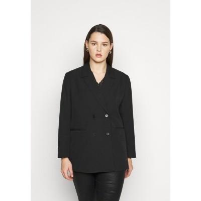 ピーシーズ カーブ ジャケット&ブルゾン レディース アウター PCGIGI - Short coat - black