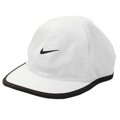 NIKE帽子ボーイズ キャップ 7A2627-001ホワイト