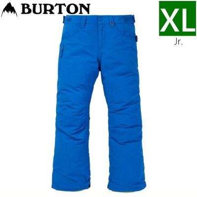 20-21 [XLサイズ] BURTON BOYS BARNSTORM PNT カラー:LAPIS BLUE キッズ ジュニア 子供用 ウェア スノーボード スキー パンツ 日本正規品