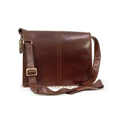 Visconti Vegetable Leather Messenger Bag A4- Workplace/Work Bag/Shoulder/Cross Body - VT7 - ALDO - Tan Brown 並行輸入品