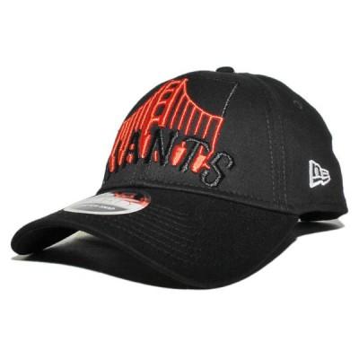 ニューエラ スナップバックキャップ 帽子 NEW ERA 9forty メンズ レディース MLB サンフランシスコ ジャイアンツ bk