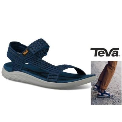 TEBA テバ TERRA-FLOAT2 KNIT UNIVERSAL ストラップ サンダル color:NAVY(ネイビー)