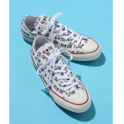 スニーカー CONVERSE コンバース オールスター メニーネーム オックス / ALL STAR 100 MANYNAME OX (WHITE)