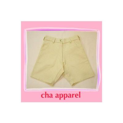 Summer Yellow Short Pants001