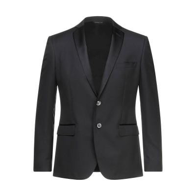 トネッロ TONELLO テーラードジャケット ブラック 48 バージンウール 85% / シルク 15% テーラードジャケット