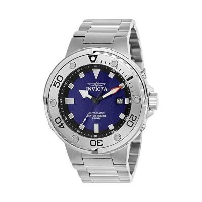 Invicta メンズ プロダイバー 自動巻き 腕時計 ステンレススチールストラップ シルバー 26 (モデル:24465)