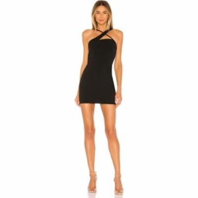 ラヴァーズフレンズ Lovers + Friends レディース ワンピース ミニ丈 ワンピース・ドレス Sidney Mini Dress Black