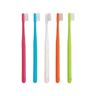 Ciメディカル 歯ブラシ Ci702(フラットタイプ) × 12本 (M ふつう)