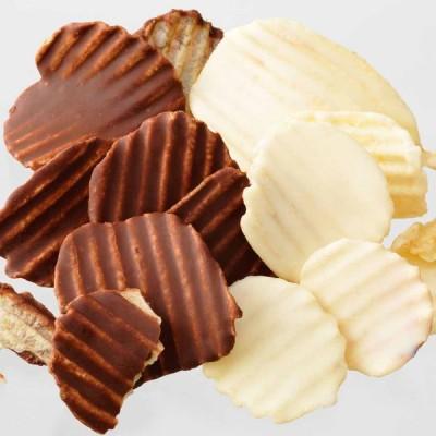ロイズ ポテトチップチョコレート[オリジナル&フロマージュブラン] スイーツ お取り寄せ 北海道 お菓子 母の日 プレゼント