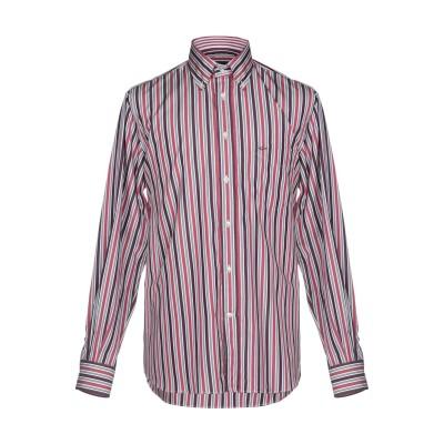 ポール・アンド・シャーク PAUL & SHARK シャツ ディープパープル 42 コットン 100% シャツ