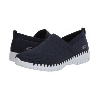 SKECHERS Performance スケッチャーズ レディース 女性用 シューズ 靴 スニーカー 運動靴 Go Walk Smart - Wise - Navy/White