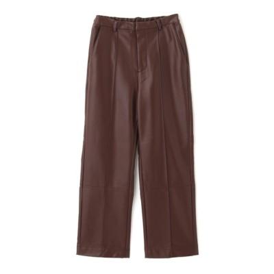 FREE'S MART / ◆フェイクレザーピンタックパンツ WOMEN パンツ > パンツ