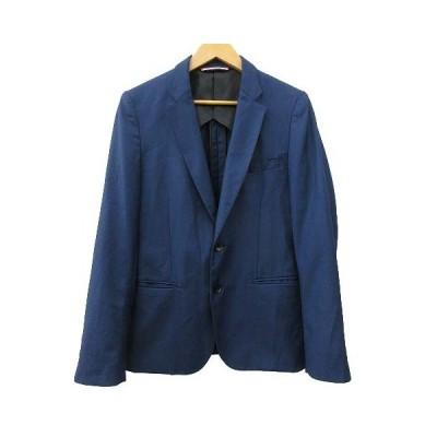 【中古】ジャーナルスタンダード JOURNAL STANDARD テーラードジャケット シングル 2B 背抜き M 紺 ネイビー SSS8 R120216 メンズ 【ベクトル 古着】