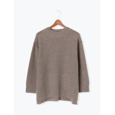 ガーター編みプルオーバー(洗濯機洗い対応可)
