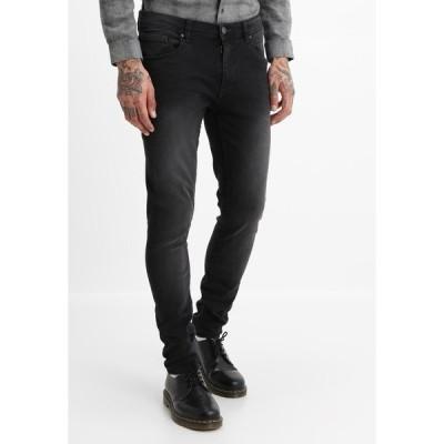 ブレンド デニムパンツ メンズ ボトムス Slim fit jeans - denim black