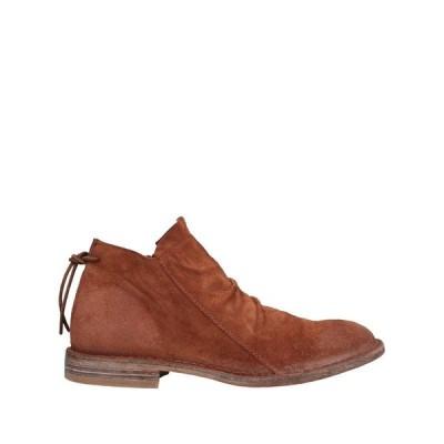 MOMA ショートブーツ ファッション  レディースファッション  レディースシューズ  ブーツ  その他ブーツ ブラウン