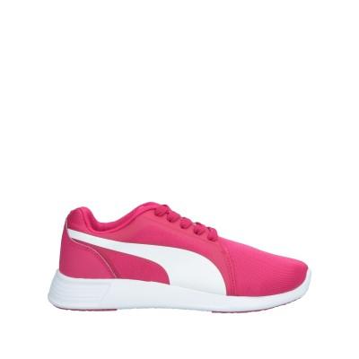 プーマ PUMA スニーカー&テニスシューズ(ローカット) フューシャ 4 紡績繊維 スニーカー&テニスシューズ(ローカット)