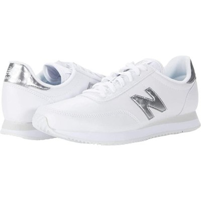 ニューバランス 720 レディース スニーカー White/Silver